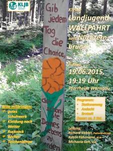 19. Juni  2015 - Kleine Landjugendwallfahrt