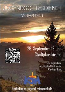 Jugendgottesdienst @ Stadtpfarrkirche Mariä Himmelfahrt Miesbach